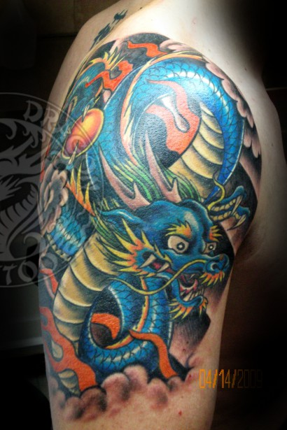 Blue Dragon Arm